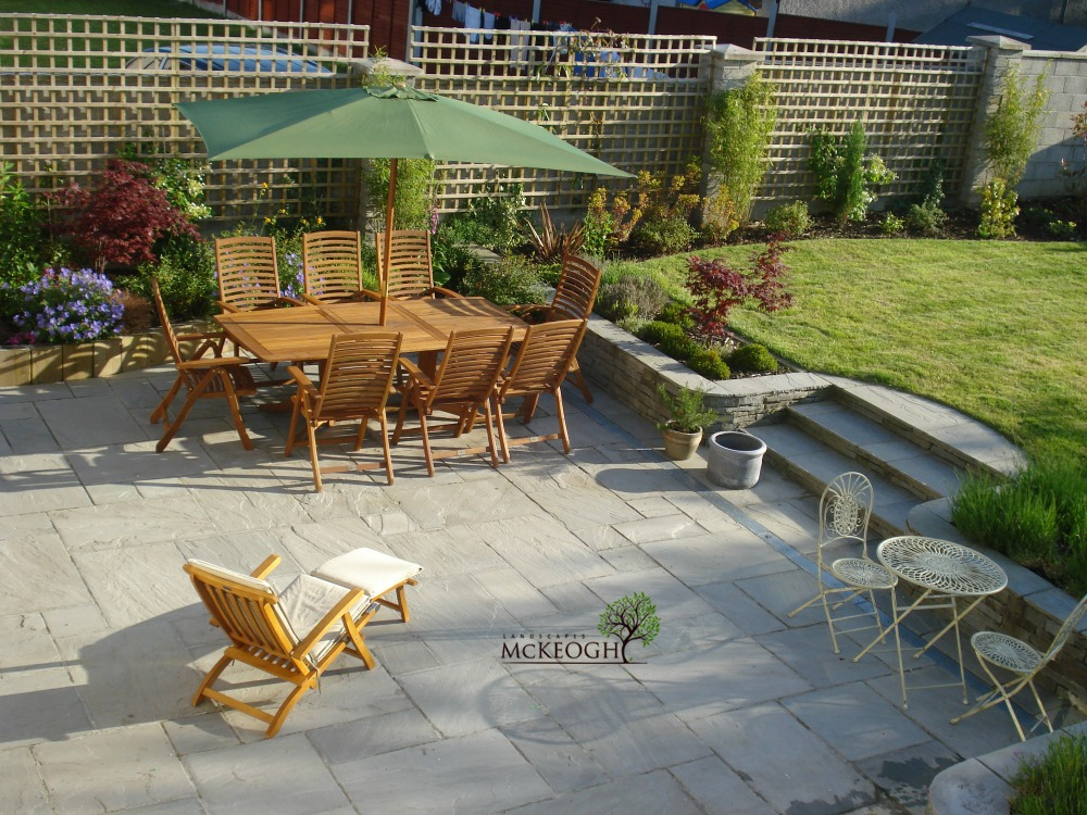 clare landscaper patio design