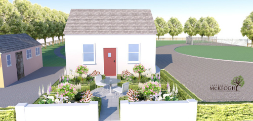 Cottage garden design in Co. Limerick