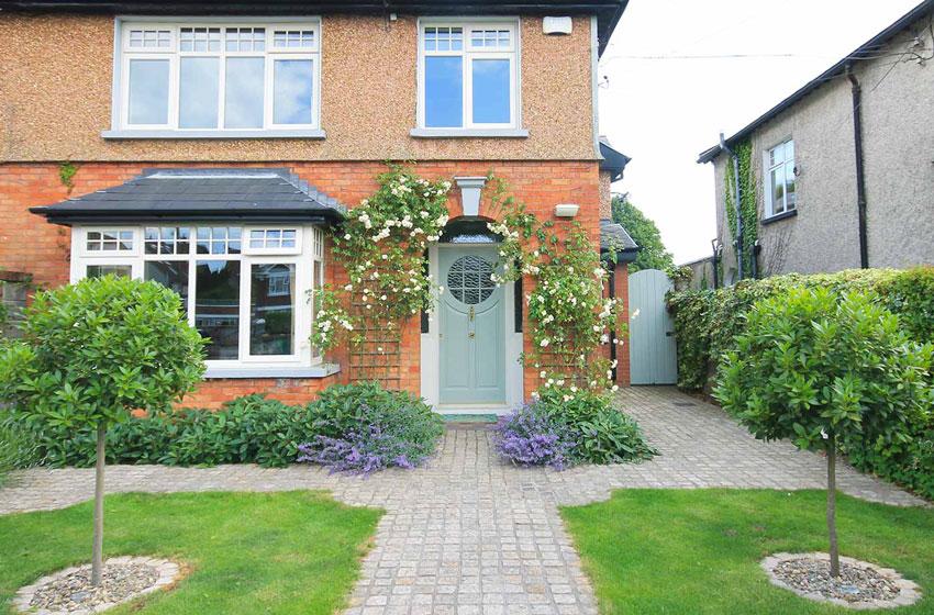 Front-door-garden-design-limerick