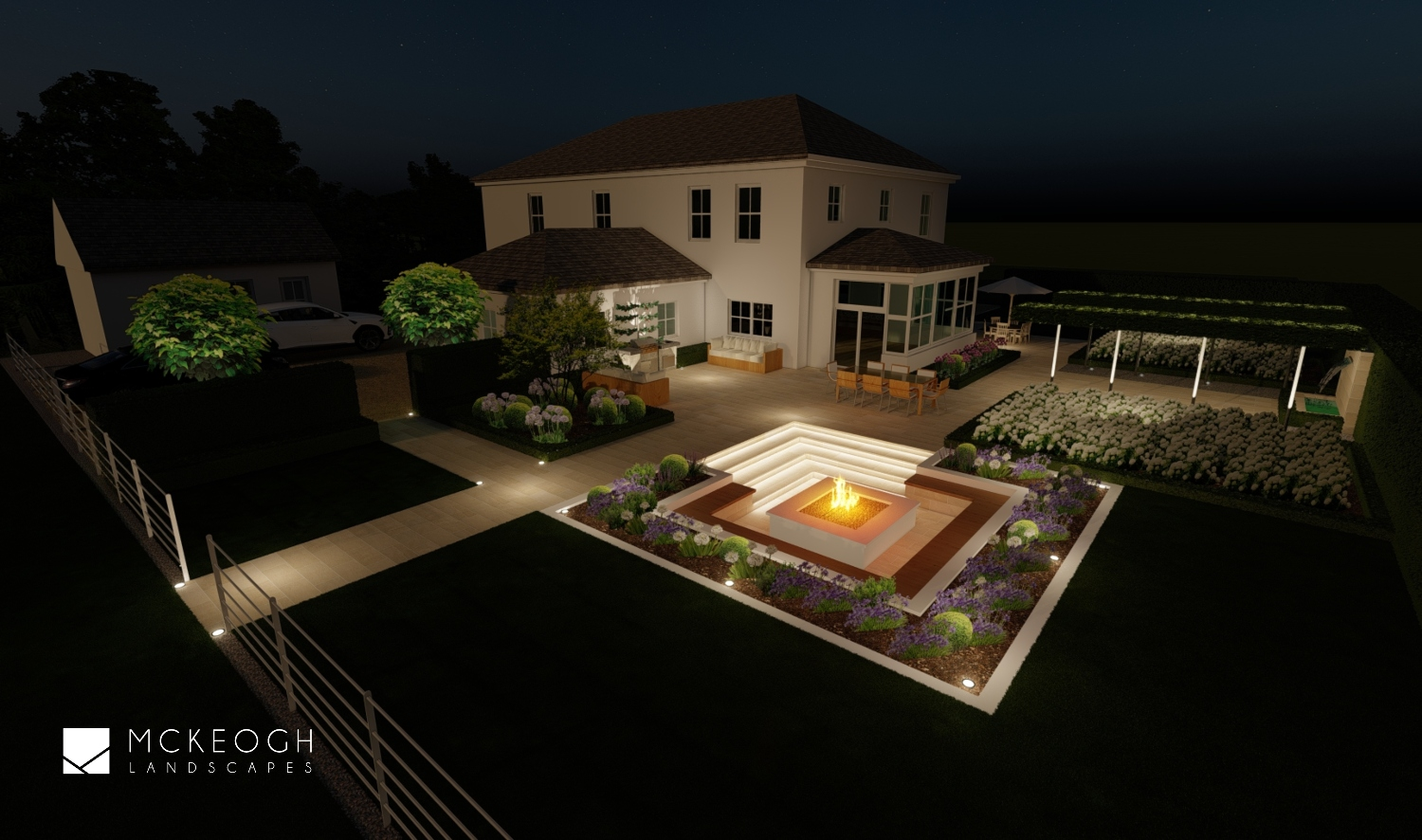 Garden-lighting-design-limerick