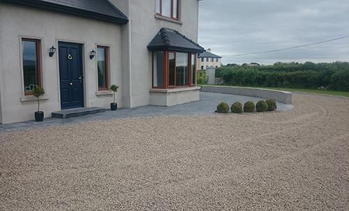 Gravel Driveway in Adare, Co. Limerick