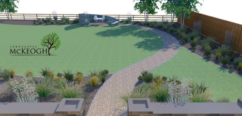 Large garden design in Adare, Co Limerick