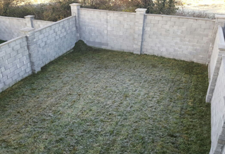 Artificial Grass before - McKeogh Landscapes