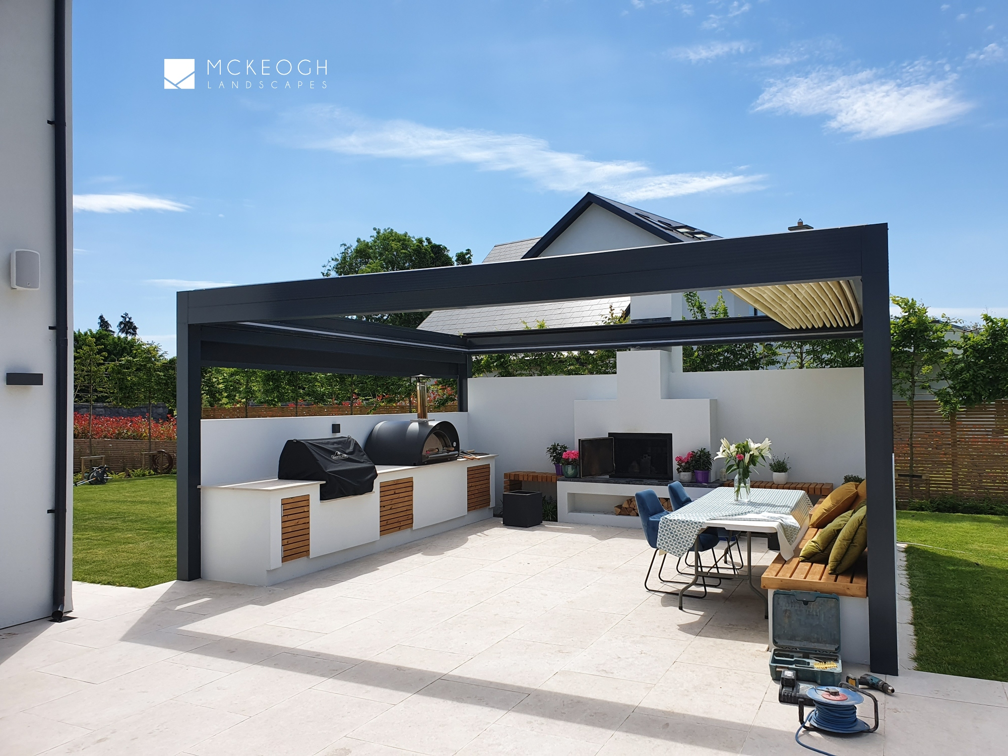 Covered outdoor Kitchen in Limerick