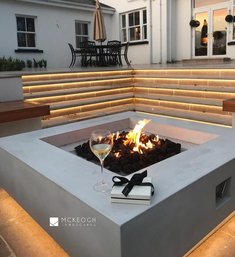 Outdoor gas firepit limerick