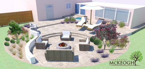 Patio and garden design in Ennis, Co Clare