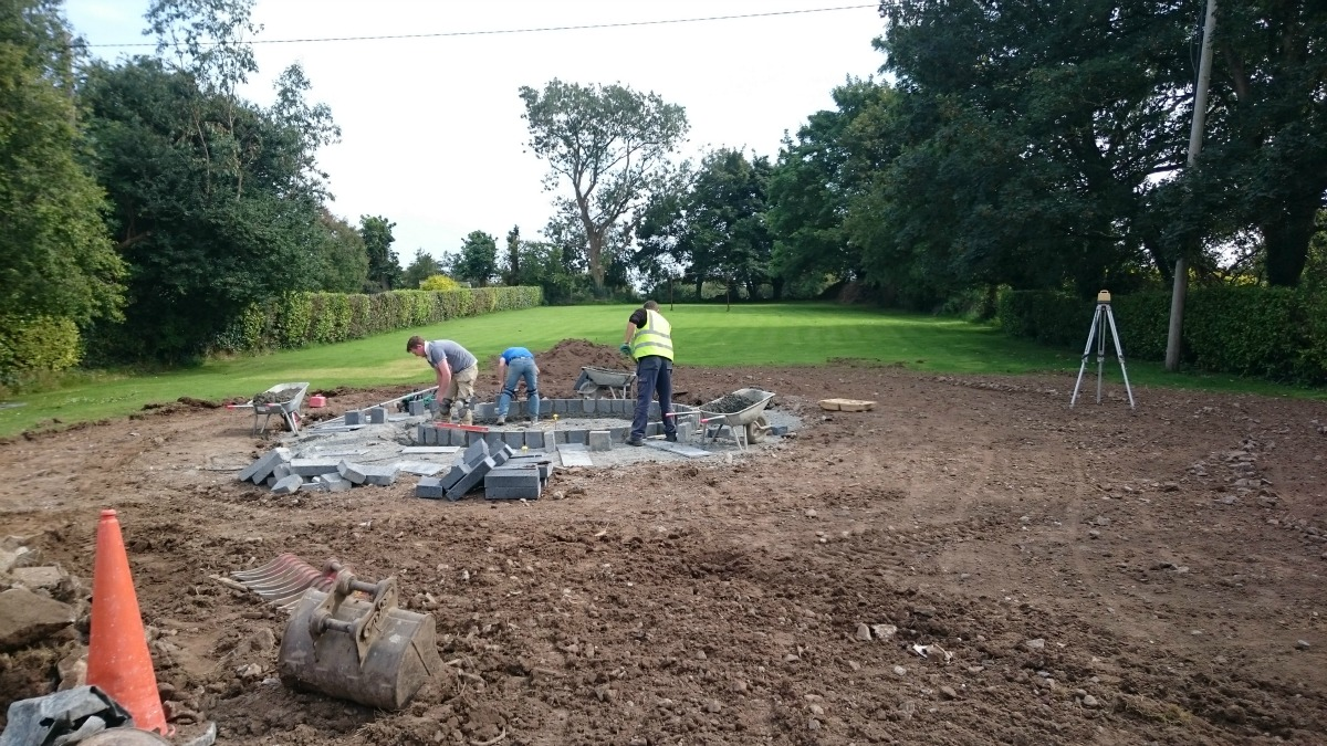 garden construction in limerick